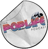 Logo of the Pop Life podcast